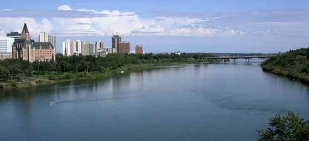 South SK River at Saskatoon